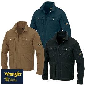 ラングラー Wrangler 作業着 作業服 ブルゾン ジップアップジャケット(男女兼用) AZ-64201 作業着 通年 秋冬 2018年 新作 新商品