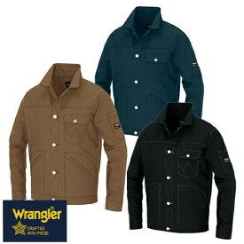 ラングラー Wrangler 作業着 作業服 ブルゾン ボタンジャケット(男女兼用) AZ-64202 作業着 通年 秋冬 2018年 新作 新商品