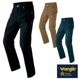 ラングラー Wrangler 作業着 作業服 スラックス ワークパンツ(ノータック)(男女兼用) AZ-64220 作業着 通年 秋冬 2018年 新作 新商品