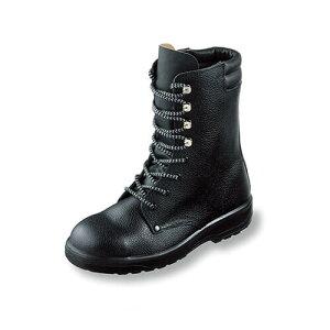 安全靴 ロング エンゼル Angel ウレタン2層長編靴 AG511 ポリウレタン2層底安全靴 小さいサイズ スモールサイズ メンズ 男性用 ベーシック(黒メイン革) 紐靴