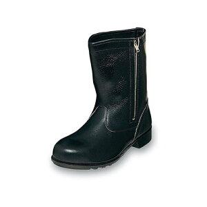 安全靴 ロング エンゼル Angel 半長チャック付 CH311 普通作業用安全靴 大きいサイズ ビッグサイズ メンズ 男性用 ベーシック(黒メイン革)