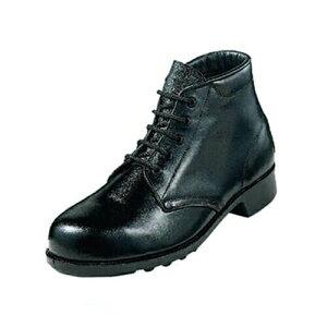 先芯入り作業靴 ハイカット エンゼル Angel 軽作業中編靴(合成先芯) M212P 軽作業靴 大きいサイズ ビッグサイズ メンズ 男性用 ベーシック(黒メイン革) 紐靴 ハイカットスニーカー