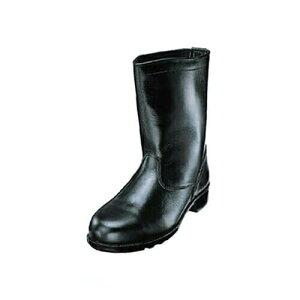 先芯入り作業靴 ロング エンゼル Angel 軽作業半長靴(合成先芯) M311 軽作業靴 大きいサイズ ビッグサイズ メンズ 男性用 ベーシック(黒メイン革)
