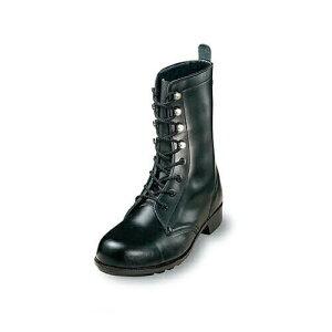 先芯入り作業靴 ロング エンゼル Angel 軽作業長編靴(合成先芯) M511P 軽作業靴 大きいサイズ ビッグサイズ メンズ 男性用 ベーシック(黒メイン革) 紐靴