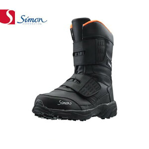 安全靴 ブーツ シモン simon 防寒靴 KB38 黒 2312990 メンズサイズ 大きいサイズ 幅広 3E 滑りにくい すべりにくい 安全 作業靴 ロング ブラック (黒 ブラック )