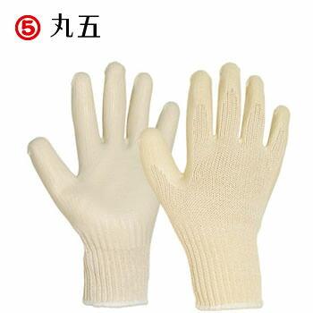 ラバー軍手(ゴム張り) 丸五 MARUGO 万年II #002 12双入り(1ダース) 作業手袋