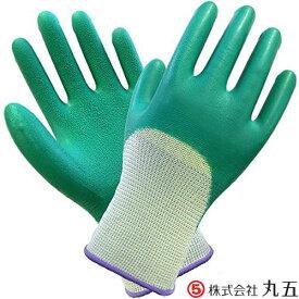 甲抜き手袋 丸五 MARUGO ソフト楽らく #170 10双セット 天然ゴムコーティング 作業手袋
