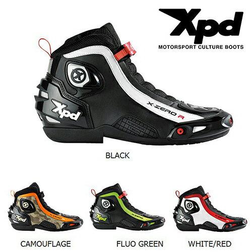 Xpd/XPS012/X-ZERO R ライディングシューズ/Riding boots/フットウエア<メンズ/23.5cm(38)、24.0cm(39)、25.0cm(40)、25.5cm(41)、26.5cm(42)、27.5cm(43)、28.0cm(44)、28.5cm(45)、29.5cm(46)/BLACK、CAMOUFLAGE、FLUO_GREEN、WHITE/RED/ライディ