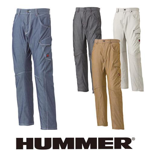 作業服 カーゴパンツ HUMMER ハマー 3Dサマーカーゴパンツ 707-1 作業着 春夏