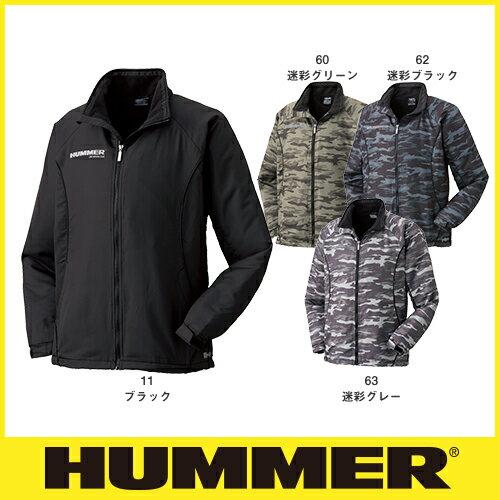 防寒ジャンパー HUMMER ハマー 裏フリースジャケット 1140-25 作業着 防寒 作業服