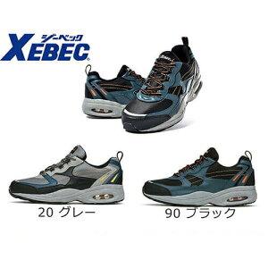 【2021年初お買い物マラソンポイントUP対象商品】安全靴 ジーベック XEBEC 85109 静電防水セフティシューズ 先芯あり スニーカータイプ メンズ 男性用 作業靴 紐靴 定番