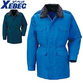 ジーベック XEBEC 18400 警備 防寒コート 通年 秋冬用 メンズ 男性用 作業服 作業着 防寒服 防寒着 上着 ブルゾン ジャケット ジャンパー 定番