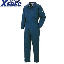 ジーベック XEBEC 928 防寒続服(ツナギ) 通年 秋冬用 メンズ 男性用 作業服 作業着 防寒服 防寒着 つなぎ サロペット 定番