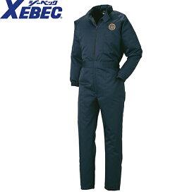 ジーベック XEBEC 483 防寒続服(ツナギ) 通年 秋冬用 メンズ 男性用 作業服 作業着 防寒服 防寒着 つなぎ サロペット 定番
