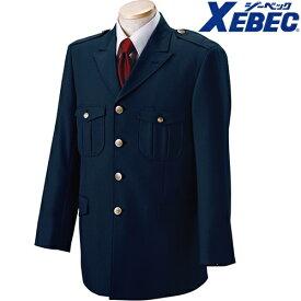 ジーベック XEBEC 18100 警備服 4ツ釦ジャケット(ノーフォーク仕様) メンズ 男性用 作業服 作業着 上着 警備用品 保安用品 セキュリティ 定番