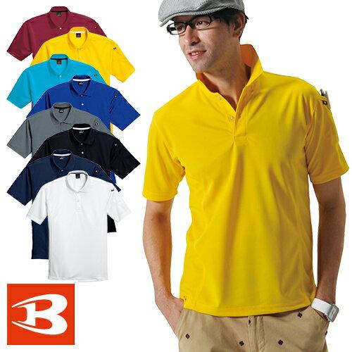 バートル 作業服 ポロシャツ 305 半袖ポロシャツ BURTLE 作業着 半袖 通年 秋冬