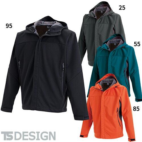 TS Design 藤和 8446 防風ウォームジャケット メンズ 防寒ウェア 防寒作業服 作業着 防寒ウエア