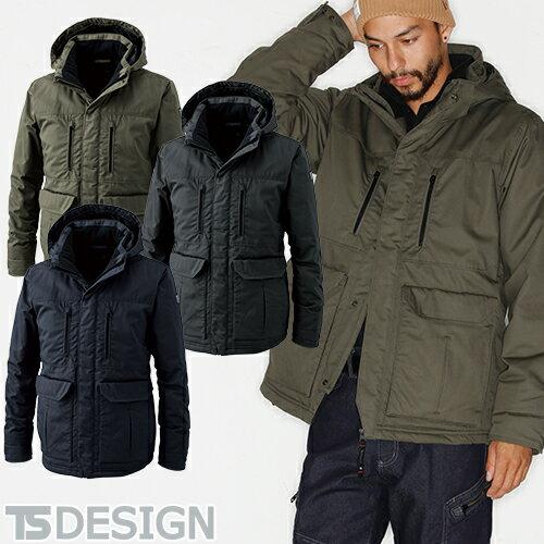 防寒コート 藤和 TS Design ライトウォームハーフコート 5127 作業着 作業服