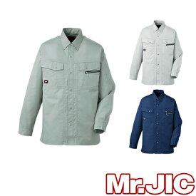 自重堂 Mr.JIC 作業服 95504 長袖シャツ 春夏 メンズ 作業着 長袖 ワークウエア