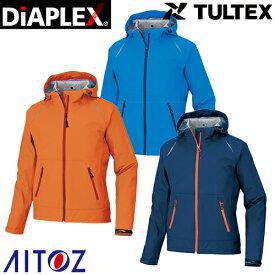 AITOZ アイトス TULTEX DIAPLEX ストレッチレインジャケット AZ-56317 レインウエア 合羽 カッパ 2020年春夏新作 透湿防水 防風 耐水 タルテックス ユニセックス 男女兼用 メンズ レディース ディアプレックス