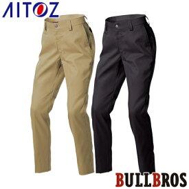 AITOZ アイトス レギュラーパンツ(ノータック)(男女兼用) AZ-89102 スラックス ブルブロス・ライダース 2020春夏新作