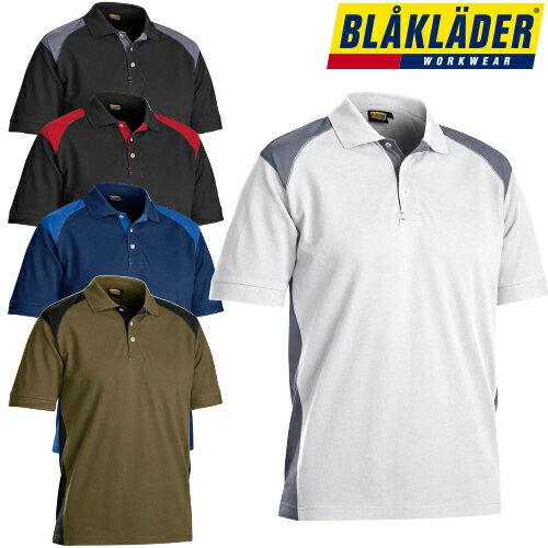 作業着 作業服 ブラックラダー BLAK LADER 半袖ポロシャツ POLO SHIRT 3324-1050 秋冬 通年 ポロシャツ