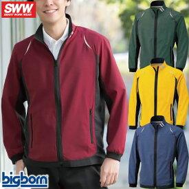 作業服 ブルゾン ビッグボーン エアーフィールドジャケット SW145 作業着 春夏 防シワ ストレッチ 軽量 通気性抜群 吸汗速乾 かっこいい