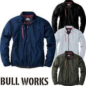 防寒ジャンパー 桑和 SOWA BULL WORKS ストレッチウインドブレーカー 43301 作業着 防寒 作業服