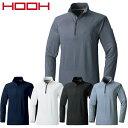 ジップアップシャツ 長袖 村上被服 鳳皇 HOOH 裏起毛ジップアップシャツ 280 長袖シャツ