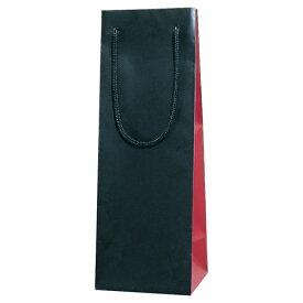 ブライトバッグ ワインLL ワインレッド 10個セット 品番:ZJ124RE【ワインボトルバッグ ギフト用】