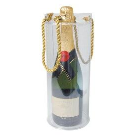 氷や水を入れられるワイン1本用のワインバッグ クールバッグ ZY322CL ワインギフトバッグ アイスクーラー プレゼント ホームパーティ ピクニック フェス