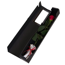 バラの花束 1本 あす楽対応で12時まで当日発送します 土曜営業 誕生日 結婚記念日 父の日