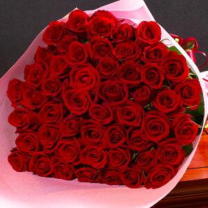 送料無料 バラの花束 50本 赤 白 黄 紫 ピンク ミックス あす楽対応で12時まで当日発送します 土曜営業 誕生日 結婚記念日 50本 60本 108本 100本 母の日 父の日 本数指定