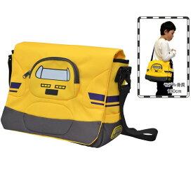 【カナレール】923形ドクターイエローメッセンジャーバッグ 新幹線グッズ (BMB-004) 黄色