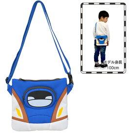 【カナレール】E7系かがやき(北陸新幹線)サコッシュ 新幹線グッズ (BSC-003) 青【メール便可】