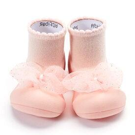 アティパス ロイヤル ピーチ A20RO Attipas Royal Peach ベビーシューズ ソックスシューズ 出産祝い プレゼント ギフト weskiii
