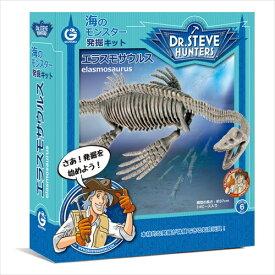 【楽天最安値に挑戦!】海のモンスター発掘キット エラスモサウルス 工作・自由研究に!