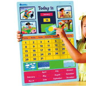 英語マグネットカレンダー-