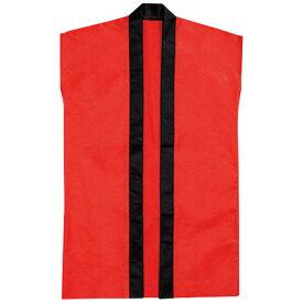 袖なしはっぴロン 赤 赤 20−151