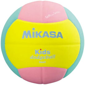 キッズドッジボール2号イエロー/ピンク