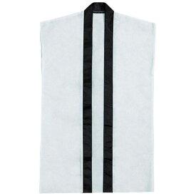 袖なしはっぴロン 白 白 20−154