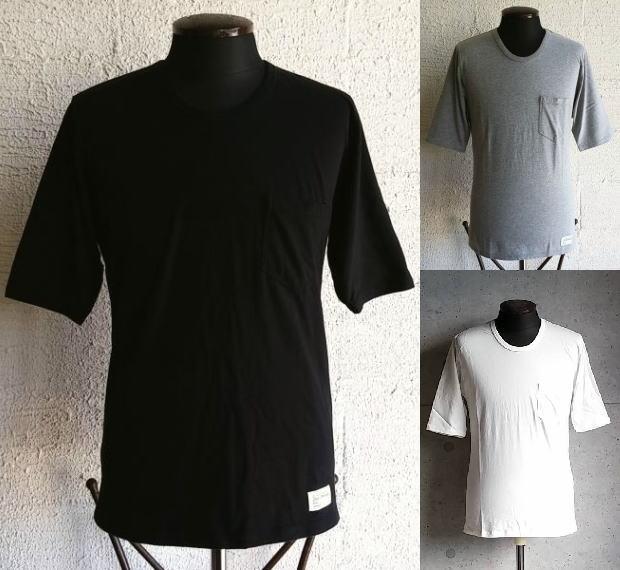 楽天スーパーセール特別価格!!SALE!! NAKED SUN[ネイキッドサン] CREW NECK SORLID 1/2 T-SHIRTS [BLACk,GREY,WHITE] クルーネックソリッドハーフスリーブTシャツ (ブラック、グレー、ホワイト)014006002