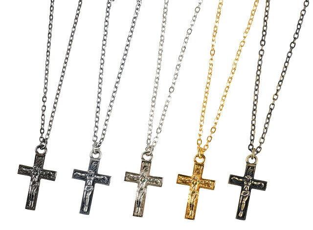 Subciety [サブサエティ] METAL NECKLACE -JESUS- [BLACK,ANTIQUE SILVER,SILVER,GOLD,ANTIQUE GOLD] メタルネックレス ジーザス(ブラック、アンティークシルバー、シルバー、ゴールド、アンティークゴールド) 103-94067 AHS