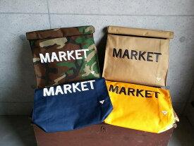 楽天スーパーセール特別価格!!SALE!! melple [メイプル] MARKET BAG (CAMO,SAND,NAVY,YELLOW) マーケットバック クラッチバッグ (カモ、サンド、ネイビー、イエロー) #5500
