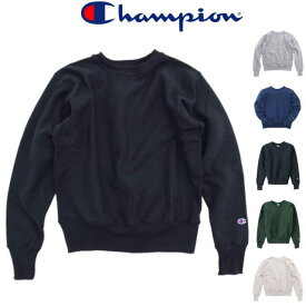 CHAMPION[チャンピオン]REVERSE WEAVE CREWNECK SWEAT[BLACK,OXFORD GRAY,INKBLUE,NAVY,MOSSGREEN,OATMEAL]リバースウィーブクルーネックスエット(ブラック,オックスフォードグレー,インクブルー,ネイビー,モスグリーン,オートミール)C5-U001