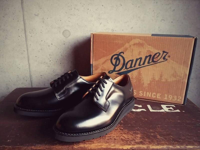 Danner [ダナー] POSTMAN SHOES [BLACK] ポストマンシューズ (ブラック) D-4300-BK/D-214300-BK