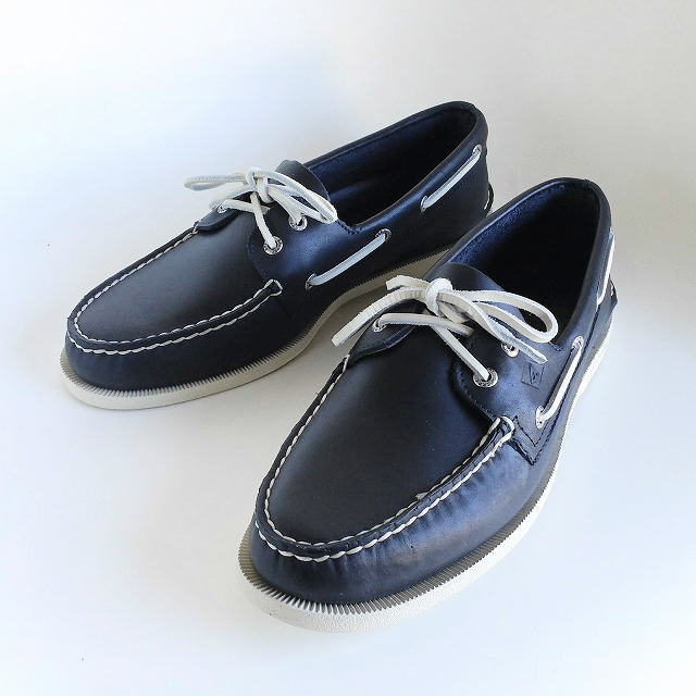 SPERRY TOP-SIDER [スペリートップサイダー] A/O 2-EYE [NAVY] A/O 2-アイ デッキシューズ(ネイビー)STS10405 AIS