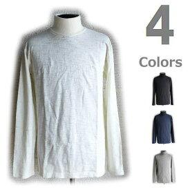 楽天スーパーセール特別価格!!SALE!! DUBBLE WORKS [ダブルワークス] TURTLE NECK T-SHIRTS [WHITE,BLACK,NAVY,GRAY] タートルネックTシャツ (ホワイト、ブラック、ネイビー、グレー) 16156002 AHA ネコポス発送