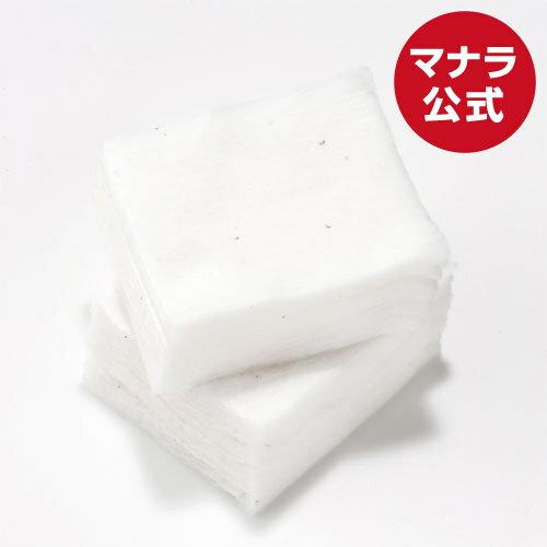 【マナラ公式】 オーガニックフェイスコットン 6×7cm 60枚入り maNara