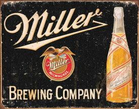 ミラービール★miller beel★ブリキ看板